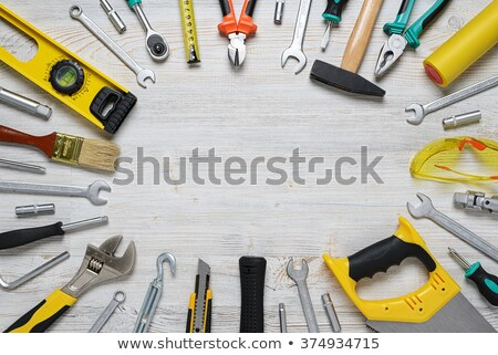 DIY tools on a workbench top Stock photo © veralub