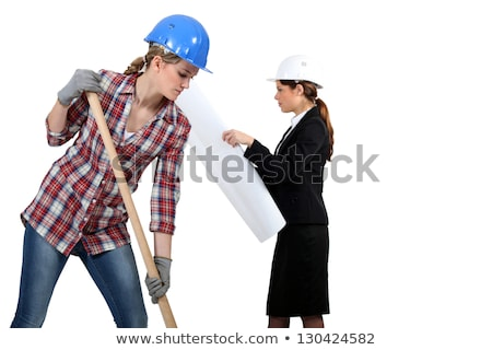 women in public and civil engineering sector Stock photo © photography33