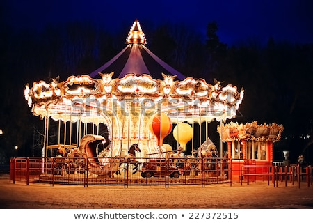 Carousel at Twilight Stock photo © Kenneth_Keifer
