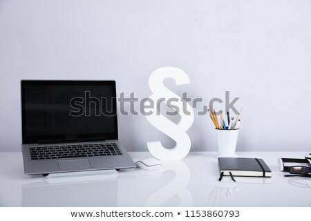 tablets with paragraph signs Stock photo © marinini