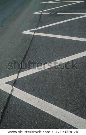 Asphalt road and white line marking.  Stock photo © deyangeorgiev