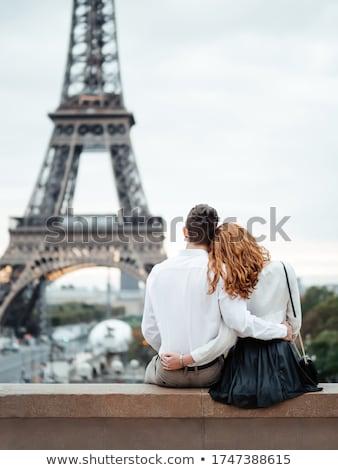 Lovers in Paris Stock photo © UrchenkoJulia