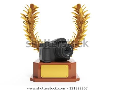 Prêmio o melhor quadro copo forma Foto stock © kolobsek