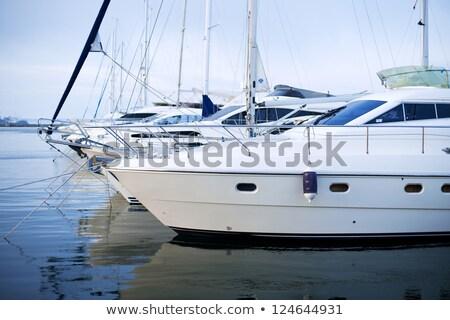 plaisir · port · bateaux · sport · navire · paysages - photo stock © discovod