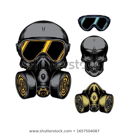 Gas Mask Toxic Grunge Stock photo © ArenaCreative