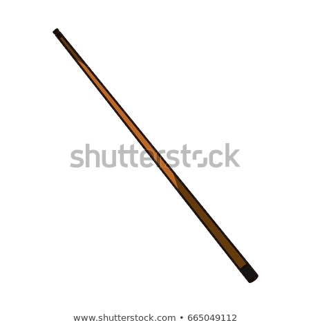 billiards cue vector illustration Stock photo © konturvid