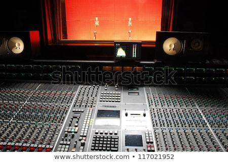 Música mezclador control botón perspectiva colorido Foto stock © lunamarina