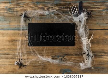 木 刀具 黑板 複製空間 叉 板 商業照片 © inxti