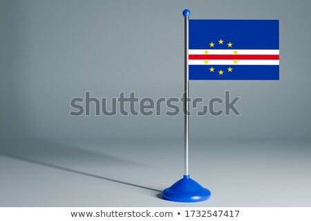 Miniature Flag of Cape Verde Stock photo © bosphorus