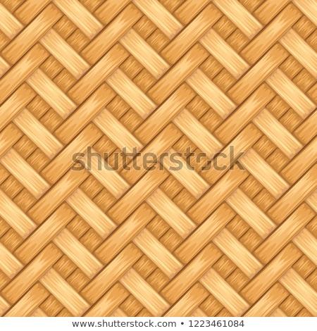 Details of woven basket.  Stock photo © pashabo