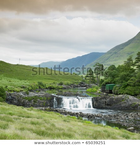 Aasleagh Falls, County Galway, Ireland Stock photo © phbcz