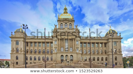 National Museum in Prague, Czech Republic,,, Stock photo © AndreyPopov