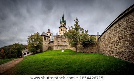castle in Kremnica, Slovakia Stock photo © phbcz