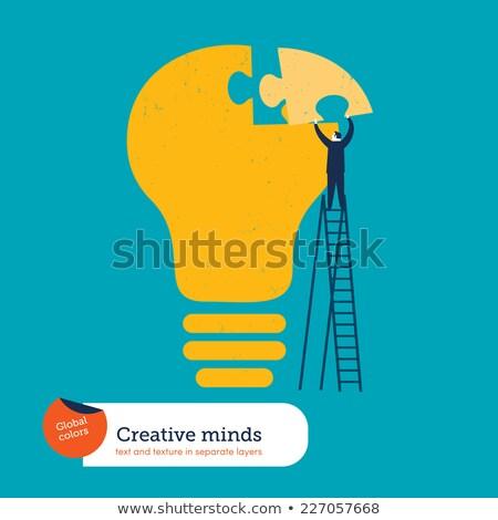 képességek · tudás · üzlet · oktatás · állás · fehér - stock fotó © tashatuvango