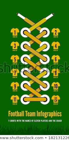 サッカーボール · ブーツ · サッカー · アイコン · 緑 · 黄色 - ストックフォト © m_pavlov