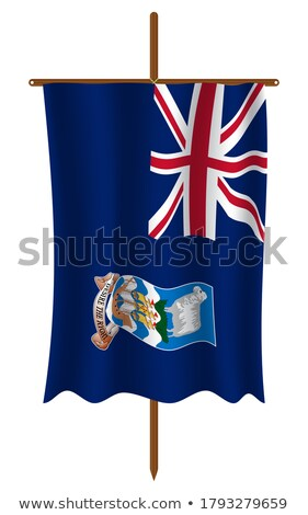 Miniature Flag of Falkland Island stock photo © bosphorus