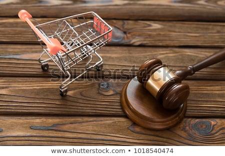 fogyasztó · fiatal · üzletasszony · rajz · információ · átlátszó - stock fotó © lightsource