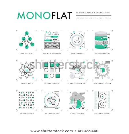 data mining concept in flat design stock photo © tashatuvango