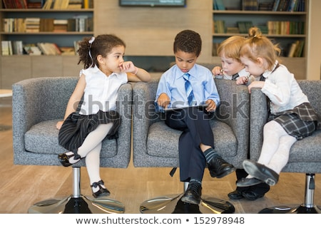 young kid dressed up as a business person Stock photo © jayfish