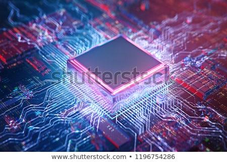 bewerker · 3D · gegenereerde · foto · elektronische · objecten - stockfoto © flipfine