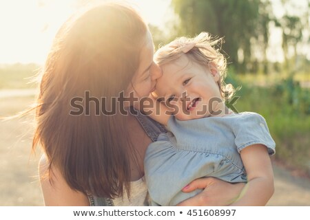 Baby girl outdoor Stock photo © igabriela