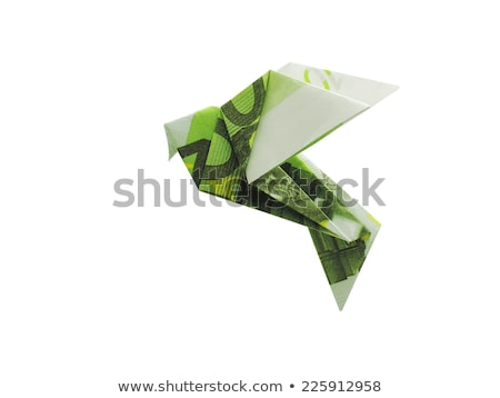origami birds from 100 euro banknotes Stock photo © butenkow