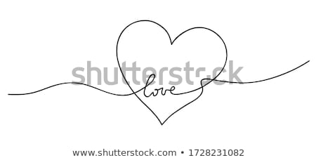 love pattern Stock photo © tracer