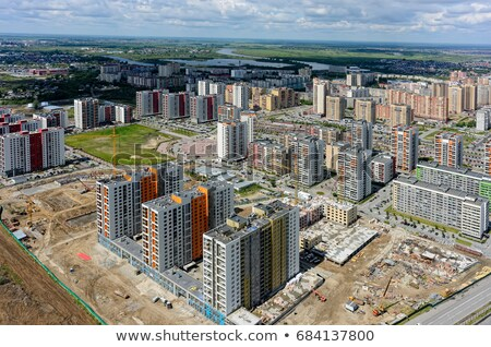 Residential district 'European'. Tyumen. Russia Stock photo © Aikon