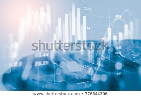 statistiques · portable · comprimé · téléphone · affaires · internet - photo stock © serebrov
