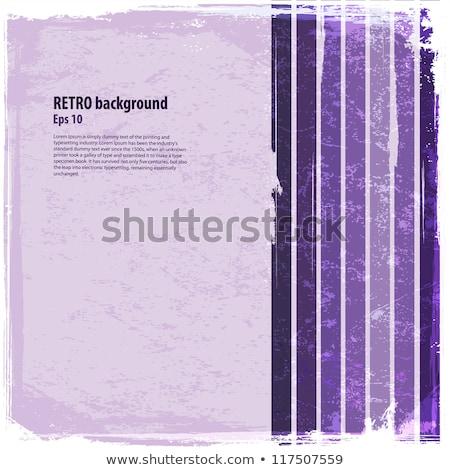 Eastern colorful purple card template Stock photo © Anna_leni