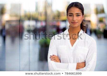 Latina business woman Stock photo © phakimata