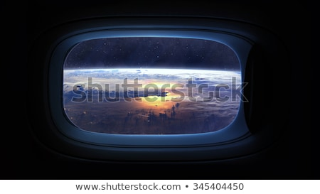 Space Journey to Neptune Stock photo © alexaldo