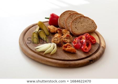 Cerdo checo tradicional alimentos cocina cena Foto stock © jonnysek