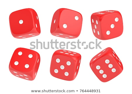 Photo stock: Dés · nombre · casino · succès