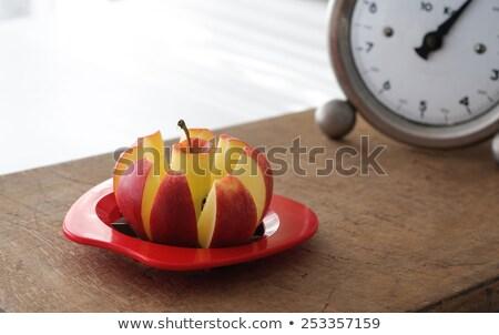 Zdjęcia stock: Apple Slicer And Vintage Kitchen Scale