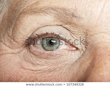 Vrouwen oog scheur logo medische Stockfoto © michaklootwijk