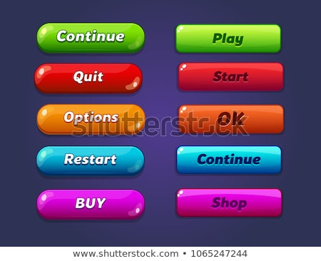 Download Video Blue Vector Icon Button stock photo © rizwanali3d