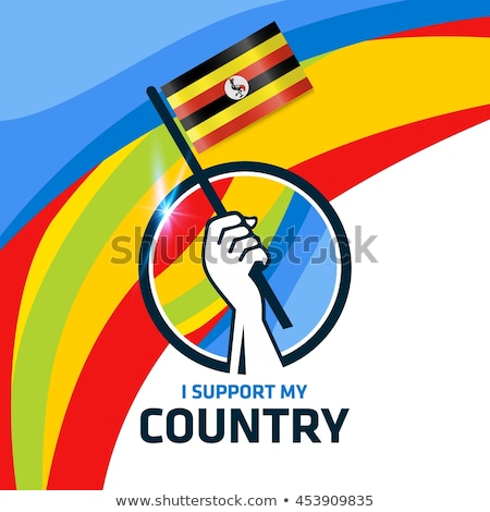 Brazília Uganda zászlók puzzle izolált fehér Stock fotó © Istanbul2009