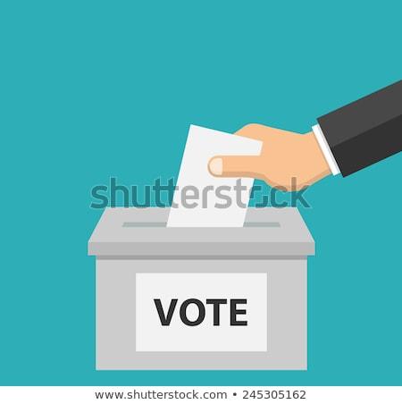 ビジネスマン 投票 投票 ボックス 白 選択 ストックフォト © wavebreak_media