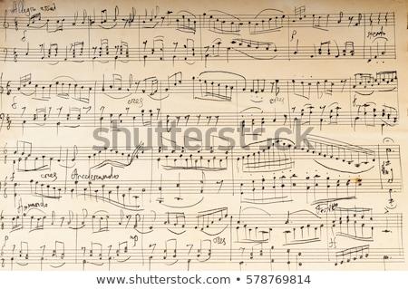 siyah · piyano · klavye · levha · bulanıklık - stok fotoğraf © kayco