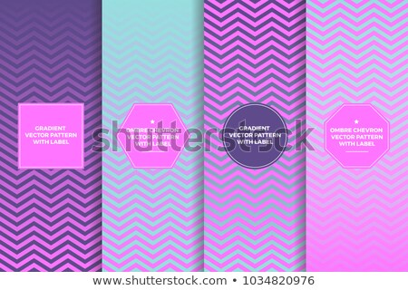 turquoise gradient chevron seamless pattern background vector stock photo © marysan