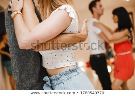 情熱的な ダンス 画像 カップル ダンス 青空 ストックフォト © pressmaster