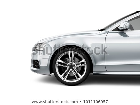 fender on a white background stock photo © Phantom1311