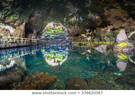 Jameos del Agua, Lanzarote, Canary Islands, Spain Stock photo © meinzahn