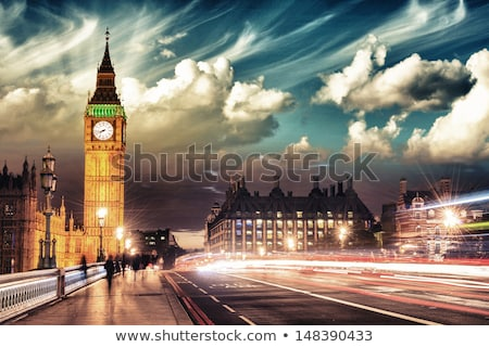 Colorful City of London Stock photo © cidepix