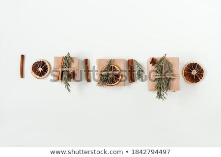 сушат оранжевый фон Рождества празднования Сток-фото © M-studio