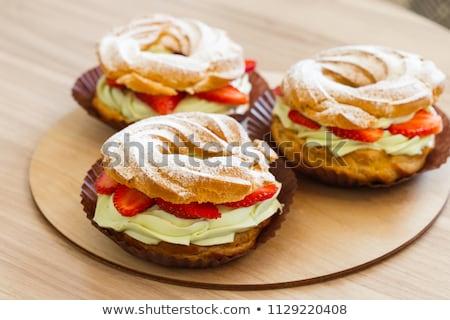 french choux pastry Stock photo © M-studio