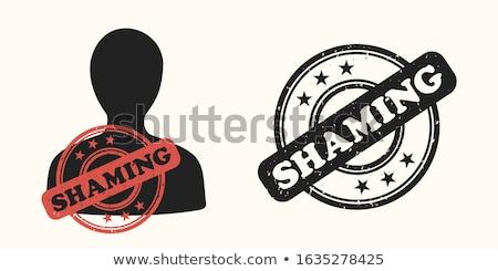 DISRESPECT Rubber Stamp Stock photo © chrisdorney