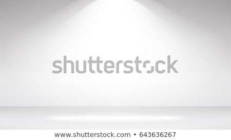 empty white photo studio interior background clean iight interior scene mock up vector illustratio stock photo © pikepicture