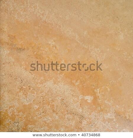 Full Frame Yellow Grooved Brick Wall Stock photo © Qingwa
